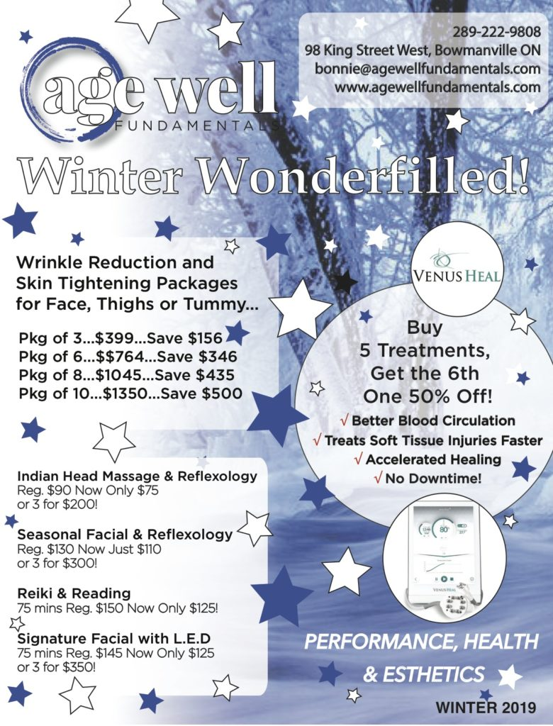 Take advantage of the best prices of the year to try out our many services to help you feel better in 2020 Mind Body and Soul!